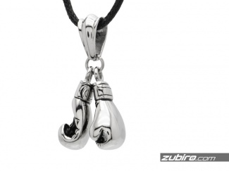Mens pendants boxing gloves 316l steel pendant aloadofball Choice Image