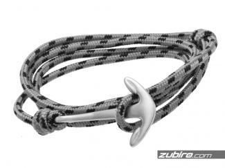 Bracelet gray 316L matte