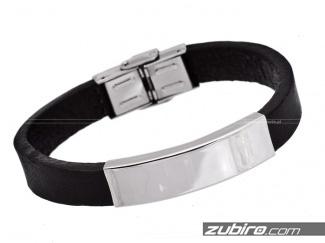 Bracelets steel engraving