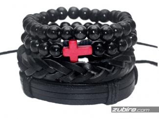 Coral bracelets for men