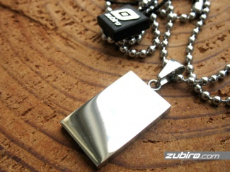 Dog tag classic rectangular