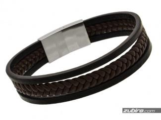 Elegant men's bracelet with straps