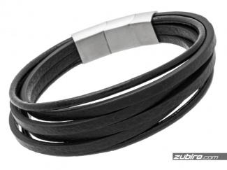 Men's bracelet with smooth straps