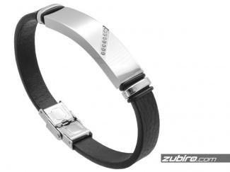 Men's bracelet with zircons