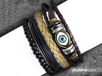 Pack of men's bracelets