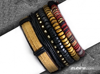 Set bracelets for the youth men