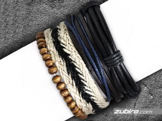 Set of bracelets for men