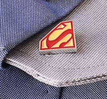 Cufflinks with SUPERHERO