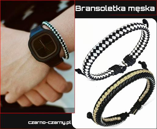 bransoletki dla Panów