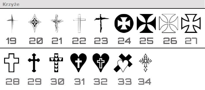 krzyże-do-grawerowania