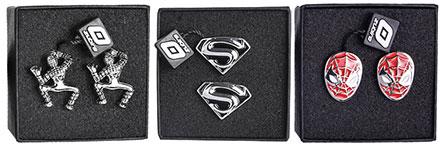 Spinki do mankietów z Superbohaterami