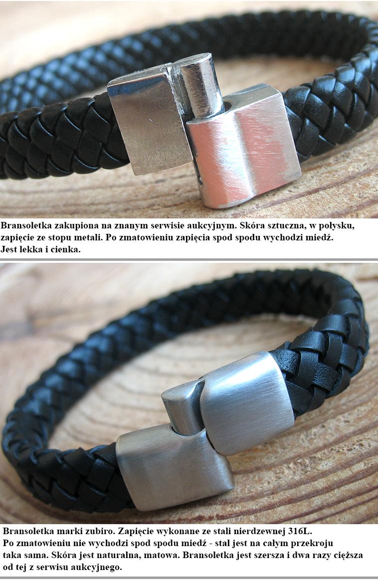 porównanie bransoletek tanich i markowych