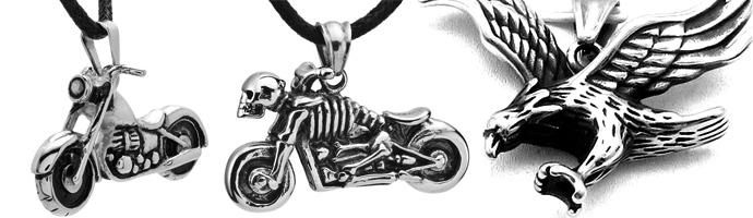 Zawieszki dla motocyklisty