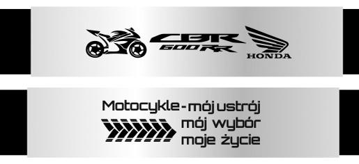 Bransoletki dla motocyklistów z grawerem