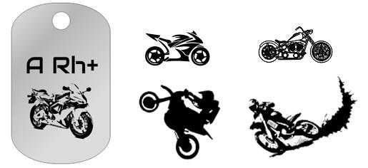 Biżuteria dla motocyklistów męska