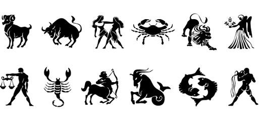 znaki zodiaku na grawer na nieśmiertelniku
