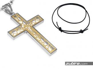 Ażurowy nowoczesny krzyż