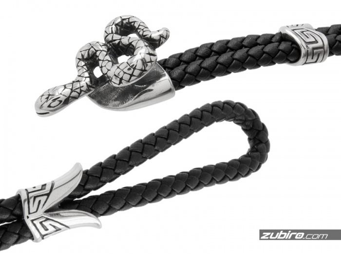 bransoletka dla mężczyzny wąż