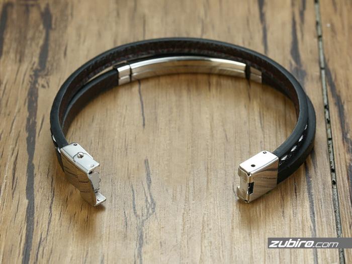 stalowa bransoletka dla mężczyzn