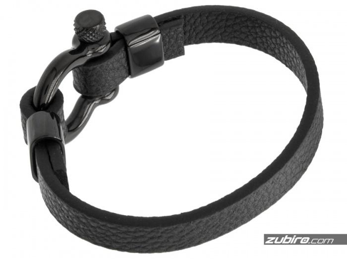 bransoletka z czarną szeklą