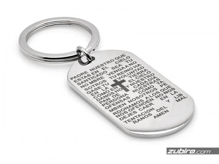 Brelok do kluczy z modlitwą