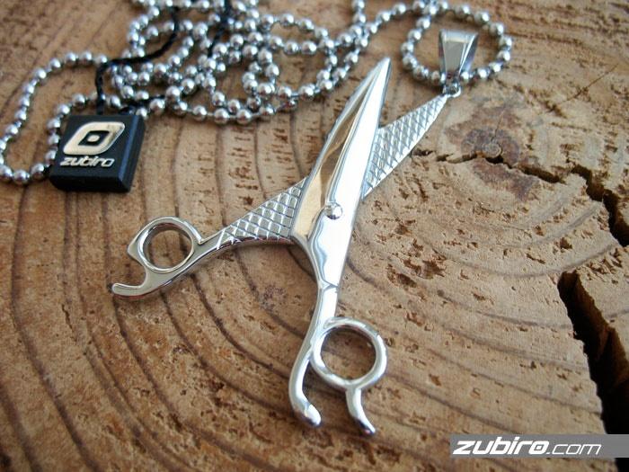 nożyczki na prezent dla fryzjera
