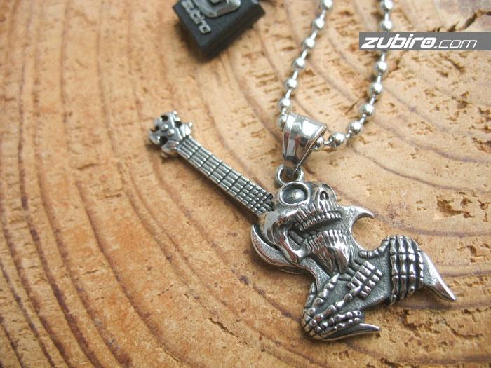 Gitara z czaszką prezent dla gitarzysty