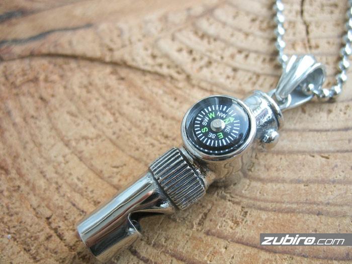 męska biżuteria kompas dla faceta