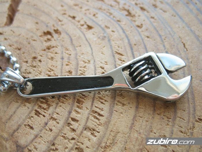 klucz angielski naszyjnik męski