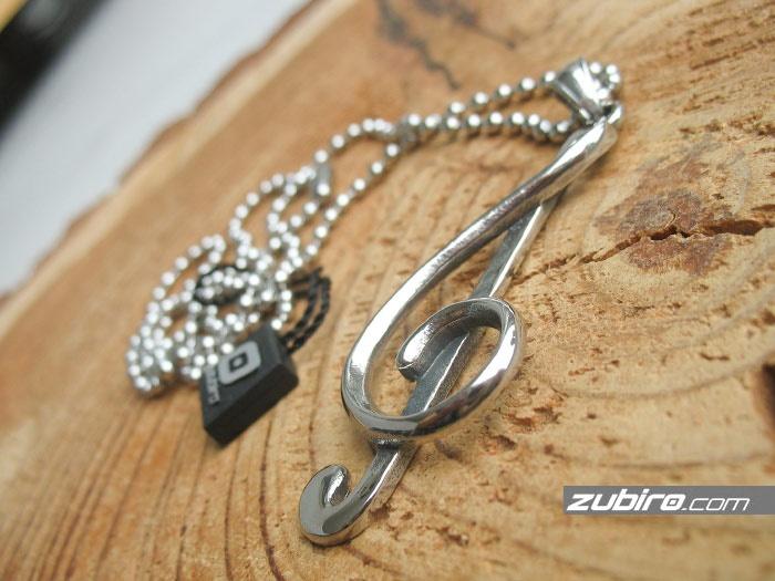 klucz wiolinowy biżuteria