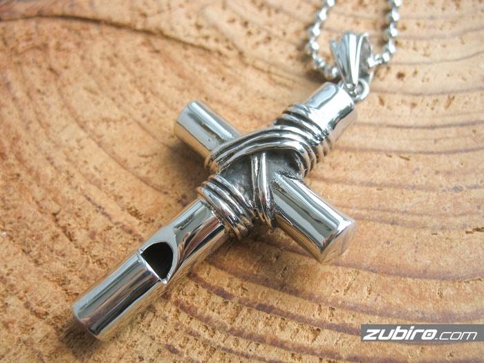 krzyż biżuteria męska