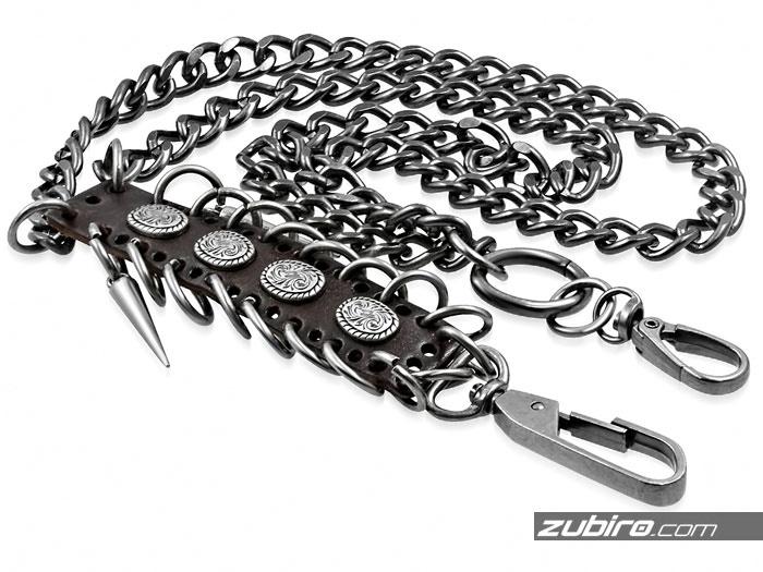 Łańcuchy metalowe do spodni
