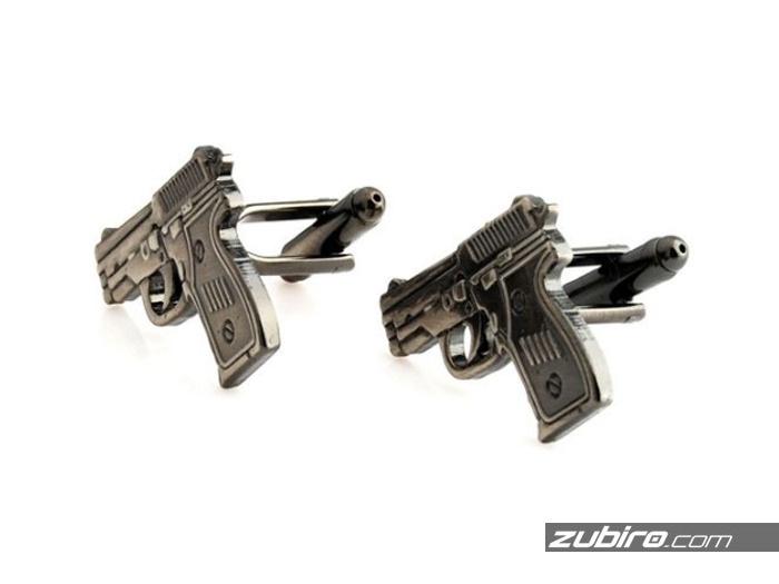 pistolety spinki męskie