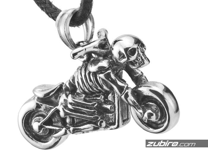 kościotrup  na motocyklu