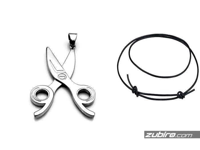 prezent dla krawca nożyczki biżuteria