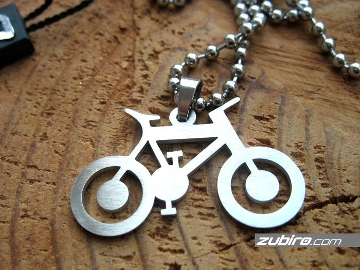 stylowa zawieszka rower męska bizuteria