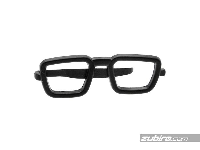 Spinka kształcie okularów metalowa