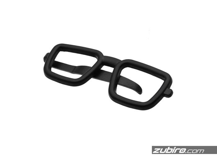 spinka do krawata w ksztalcie okularów