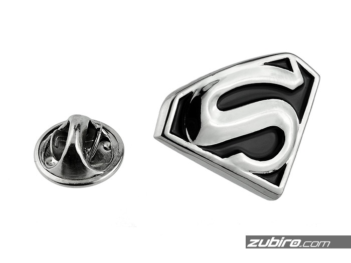 Superman button do marynarki