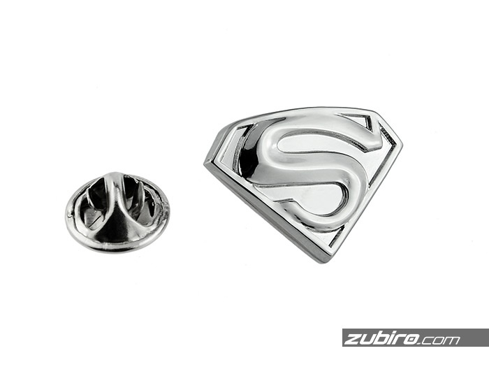 Superman pin metalowy