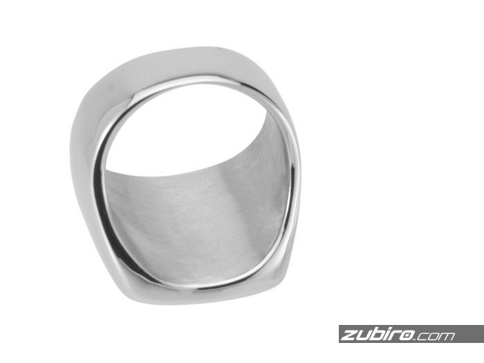 sygnet polerowany srebrny