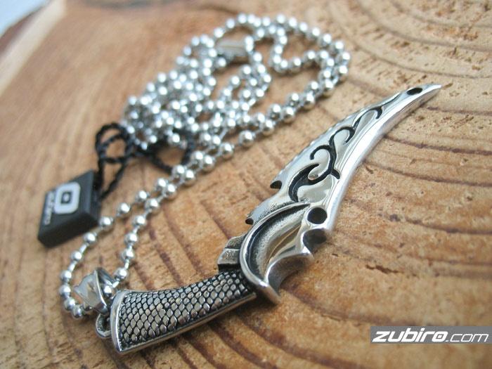 nóż sztyletowy męska biżuteria
