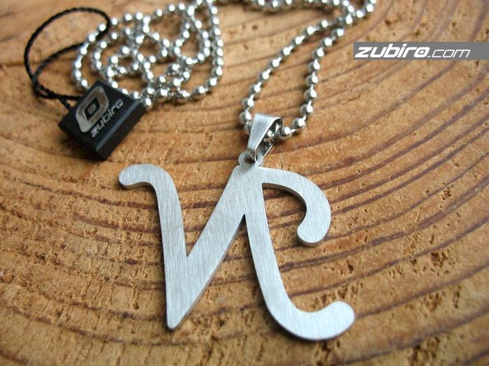 naszyjniki męskie litera N