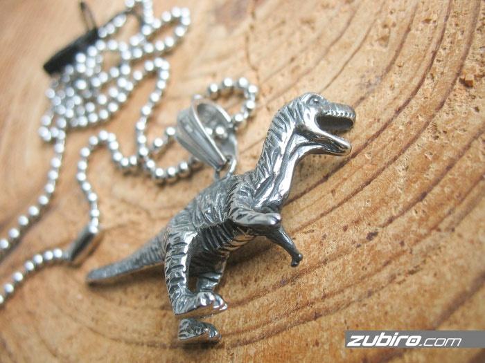 naszyjnik z dinozaurem