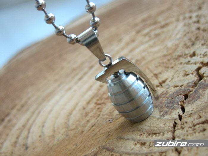 zawieszka granat dla mężczyzny na prezent