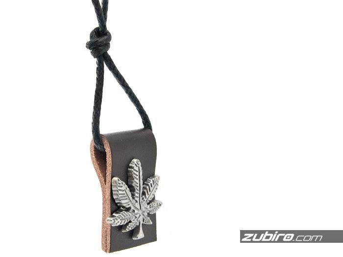 marihuana zawieszka liść maryśki