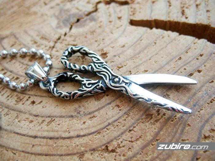 zawieszka nożyczki artystyczne dla barbera