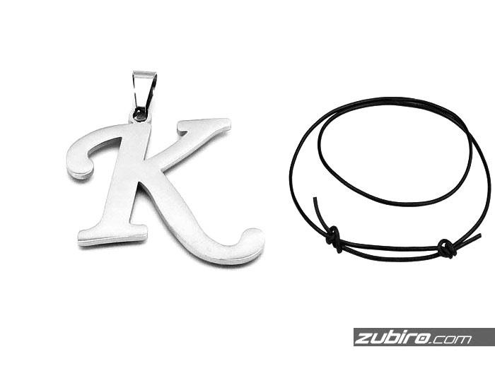 Zawieszki literki prezent imieninowy litera K