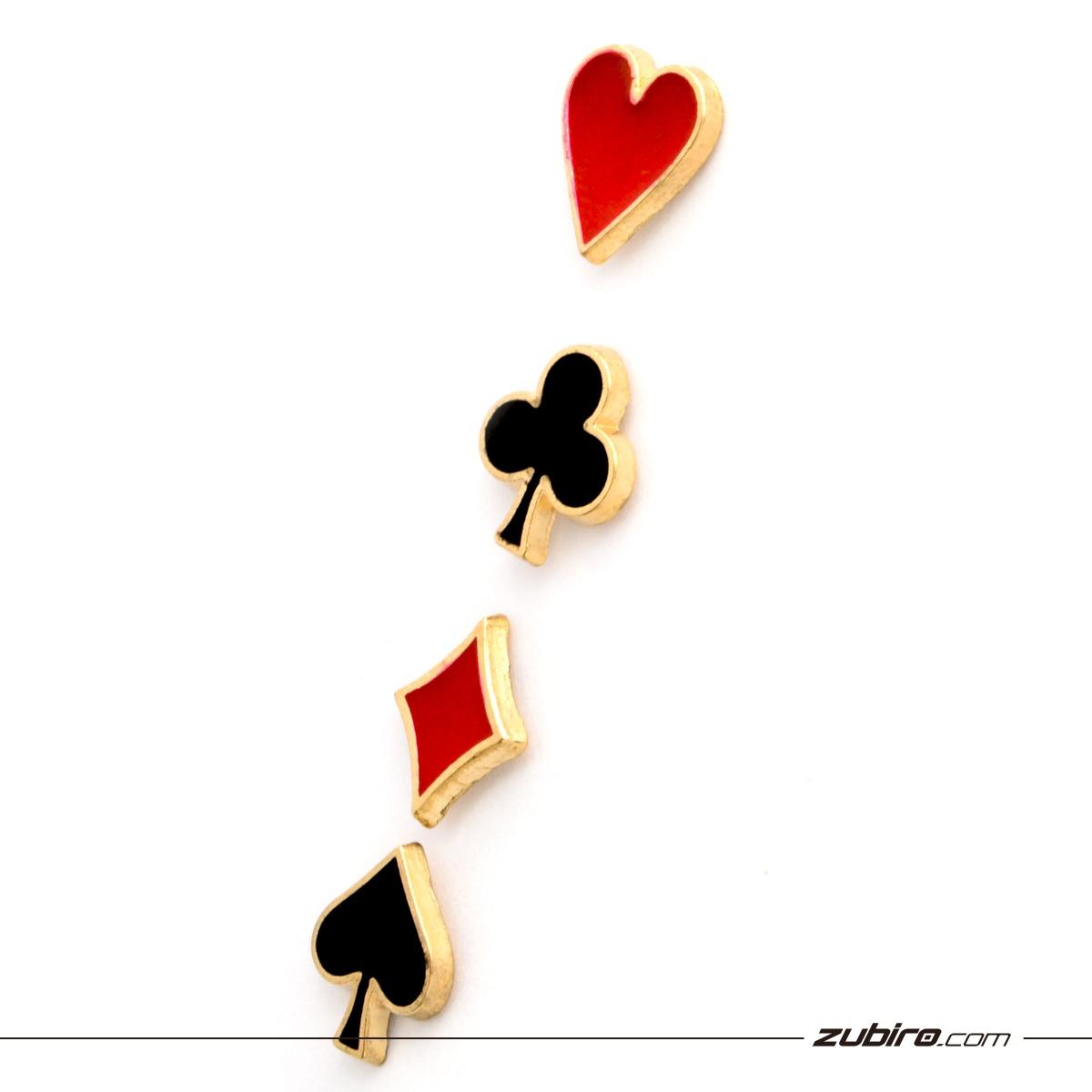 piny dla wielbiciela gry w karty