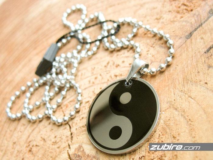 męska biżuteria znak naszyjniki męskie zawieszki  yin yang